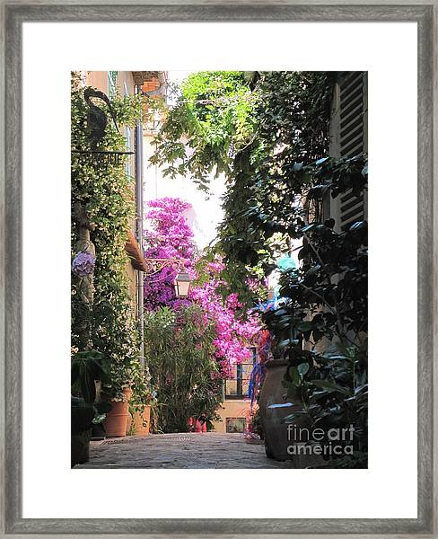 St Tropez Framed Print