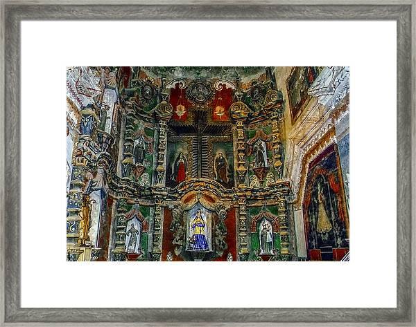 San Xavier Mission Framed Print