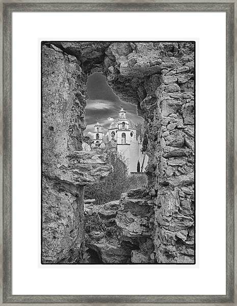 Sanctuary Of Atotonilco Framed Print