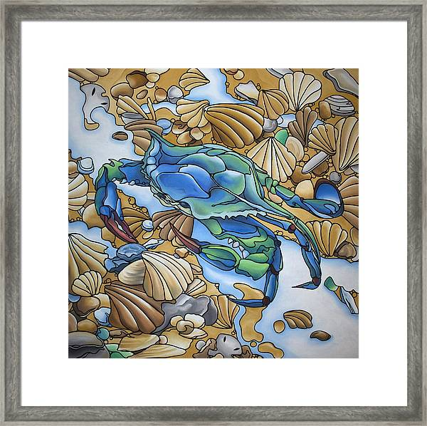 Blue Sally  Framed Print