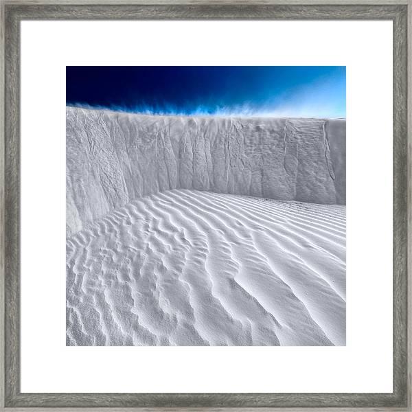 Sand Storm Brewing Framed Print