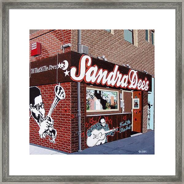 Sanda Dee's No. 2 Framed Print by Paul Guyer