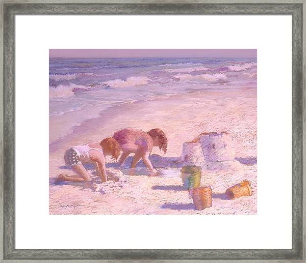 Sandcastle Framed Print