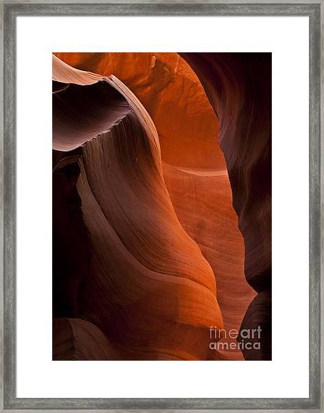 Sandstone Split Framed Print