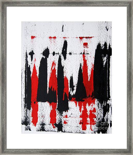 Abstract - Sane Framed Print