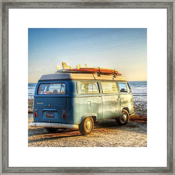 Sano Vw Bus Framed Print