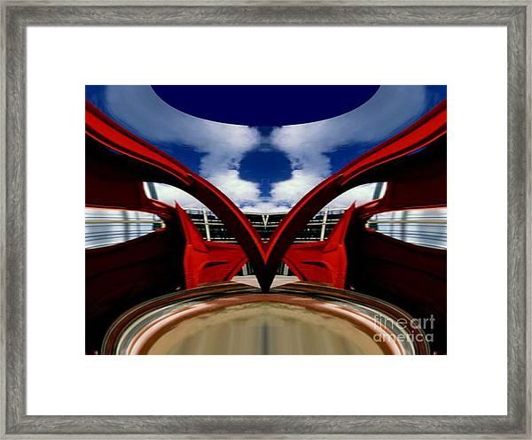 Sans Gravity Framed Print