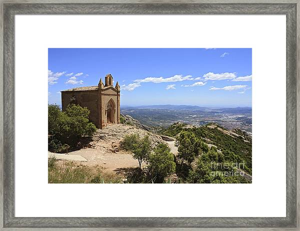 Sant Joan Chapel Spain Framed Print