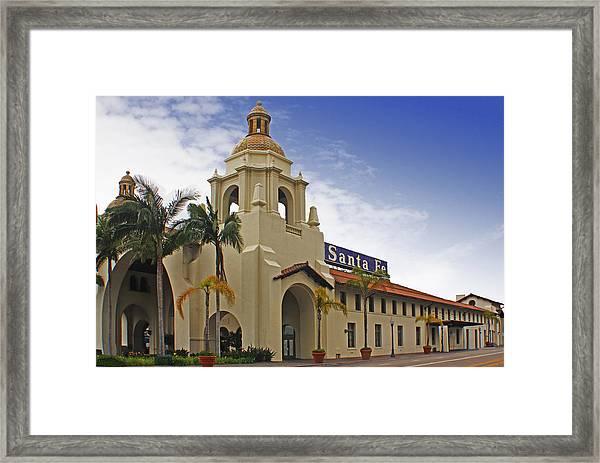 Santa Fe Depot Framed Print
