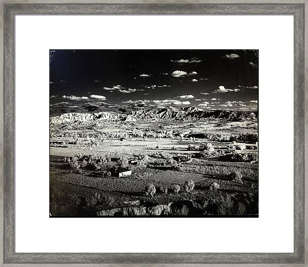 Santa Fe In New Mexico Framed Print