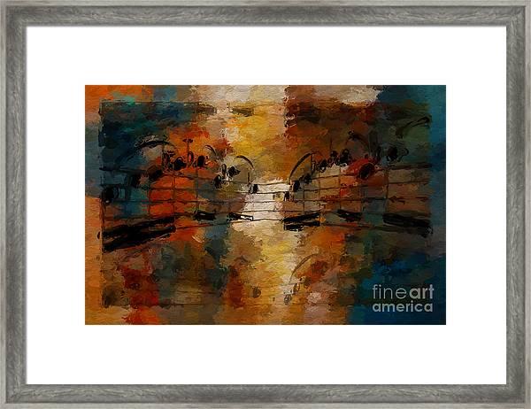 Santa Fe Intermezzo Framed Print