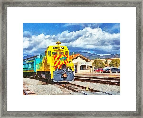 Santa Fe Southern Railway Train Framed Print