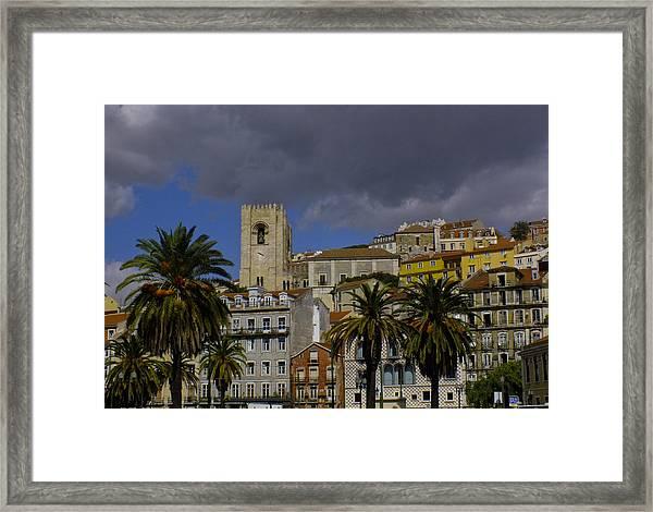 Santa Maria Maior De Lisboa Framed Print