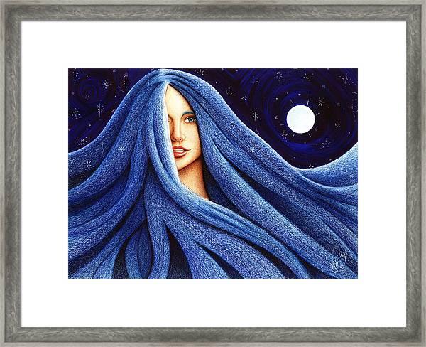 Sapphyre Framed Print