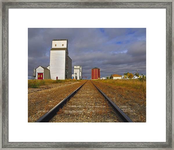 Saskatchewan Prairies Framed Print