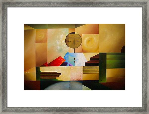 Satori Framed Print by Laurend Doumba
