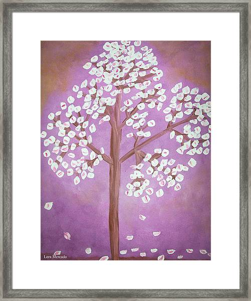 Savanna's Tree Framed Print