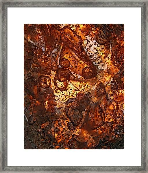 Scattering Framed Print