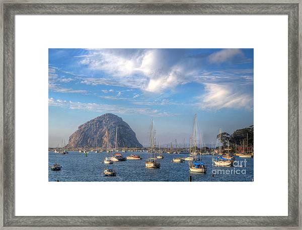 Scene On The Bay Framed Print