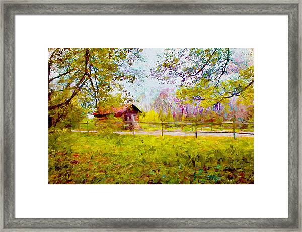 Scenery Series 03 Framed Print