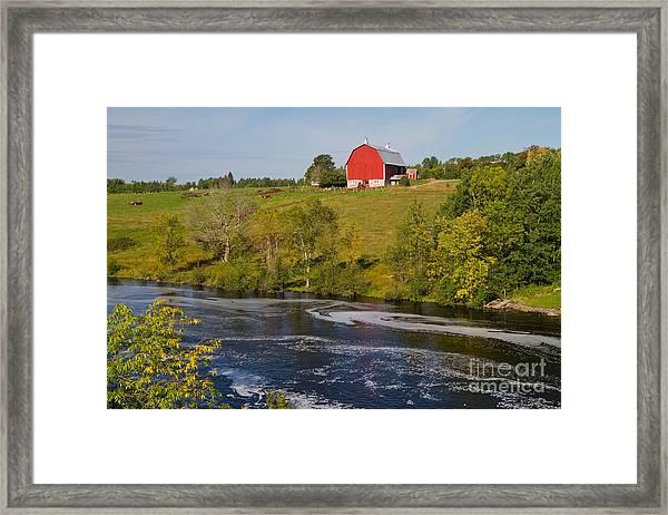 Midwest Farm Framed Print