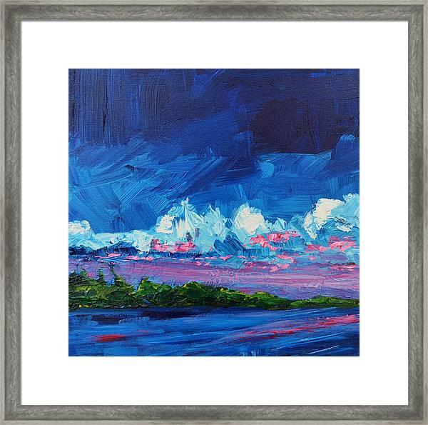 Scenic Landscape  Framed Print