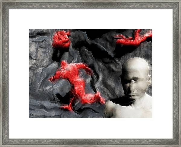 Schizophrenic Lucidity Framed Print