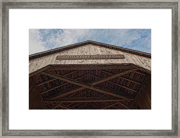 Schofield Ford Covered Bridge Framed Print