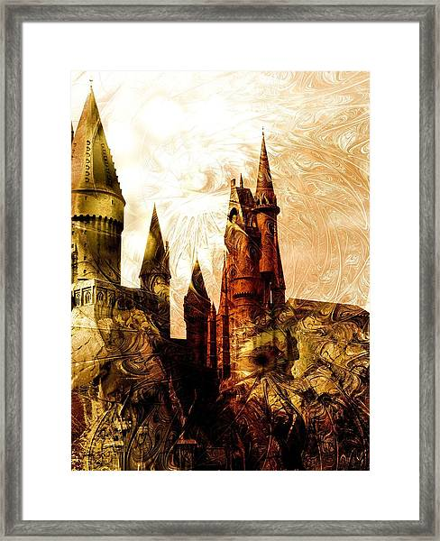 School Of Magic Framed Print