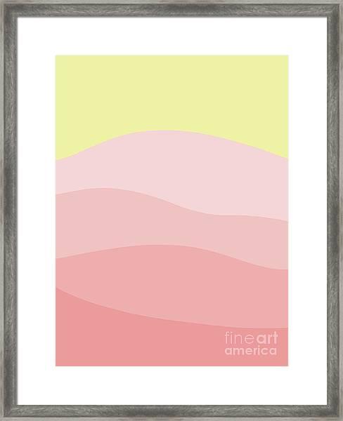 Schoolhouse Hill Framed Print