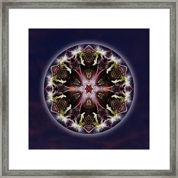 Scorpio Moon Warrior Framed Print
