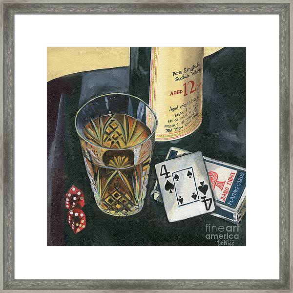 Scotch And Cigars 2 Framed Print