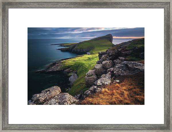 Scotland - Neist Point Framed Print
