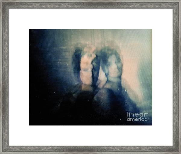 Screen #09 Framed Print