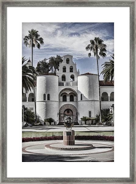 Hepner Hall Framed Print