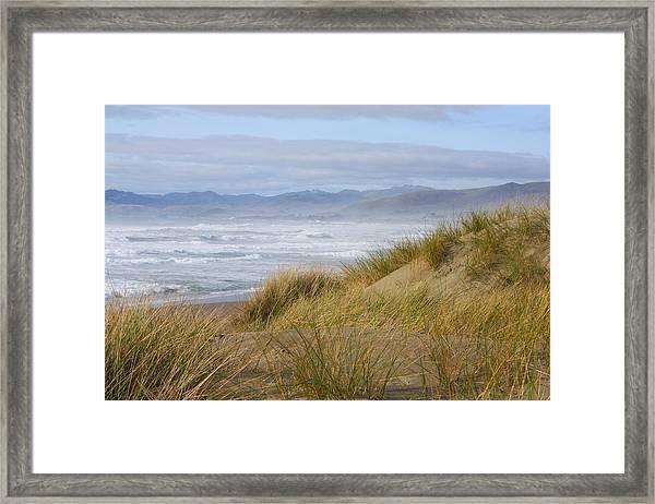 Sea Angel's Path Framed Print