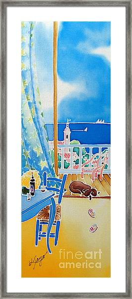 Sea Breeze Framed Print