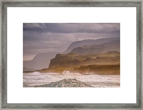 Sea Cliffs Framed Print