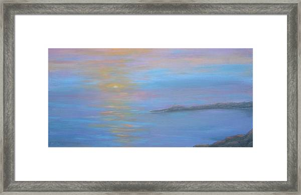 Sea Of Colors Framed Print