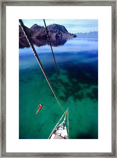 Sea Of Cortez Framed Print