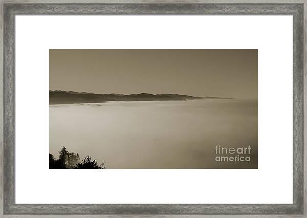 Sea Of Fog Framed Print