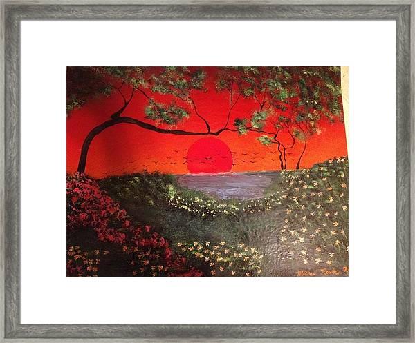 Sea Of Japan Framed Print