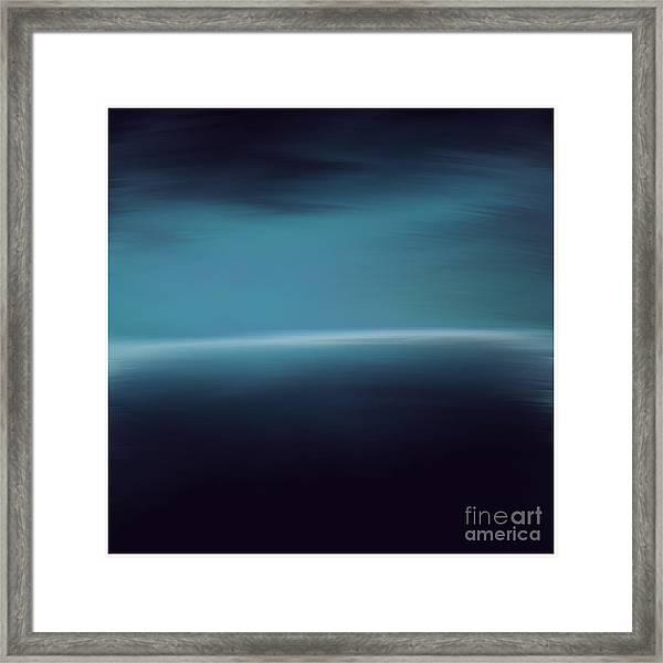 Sea Of Light Framed Print