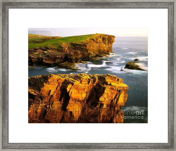 Sea Of Time Framed Print