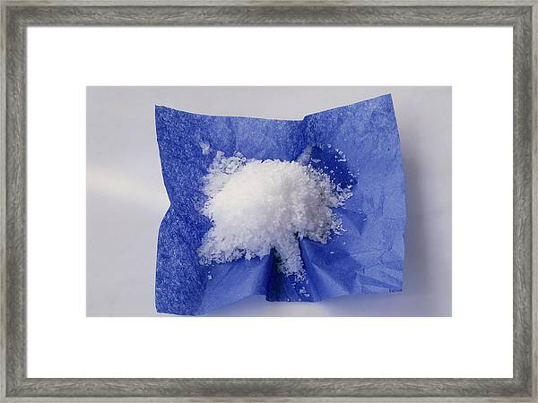 Sea Salt Framed Print