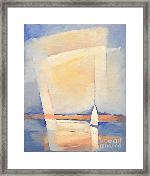 Sealight Impression Framed Print