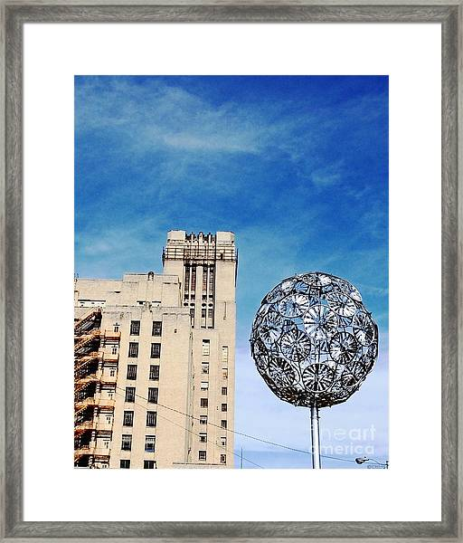 Sears Crosstown Memphis Framed Print
