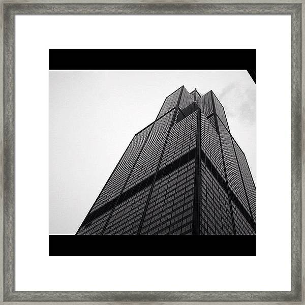 Sears Tower Framed Print