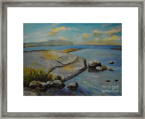Seascape From Hamina 1 Framed Print