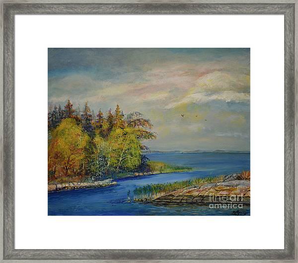 Seascape From Hamina 3 Framed Print
